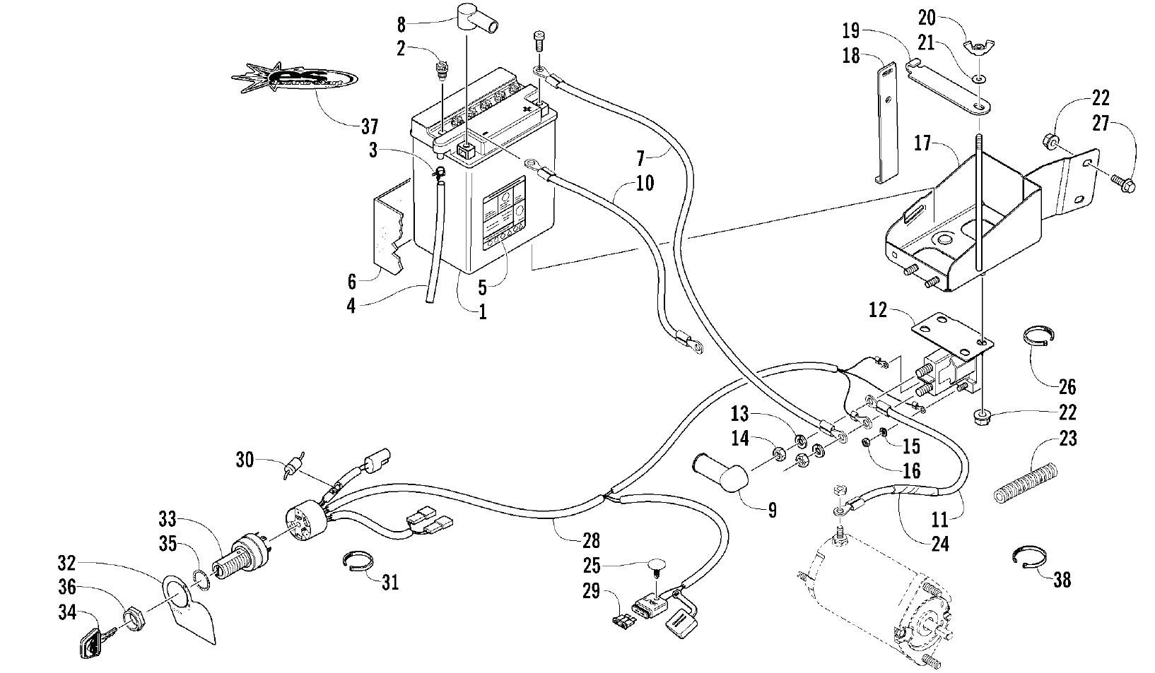 vmax 540 snowmobile wiring diagram