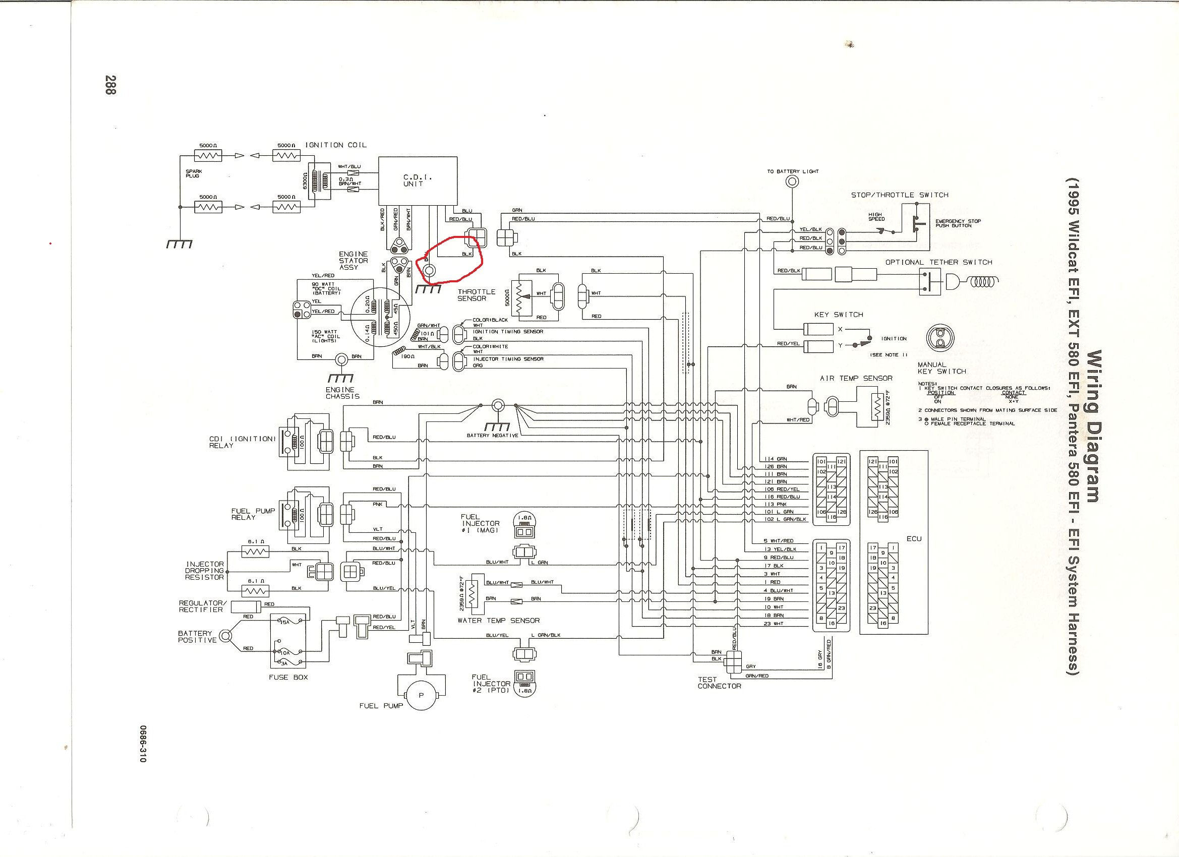 arctic cat wildcat 700 efi wiring diagram