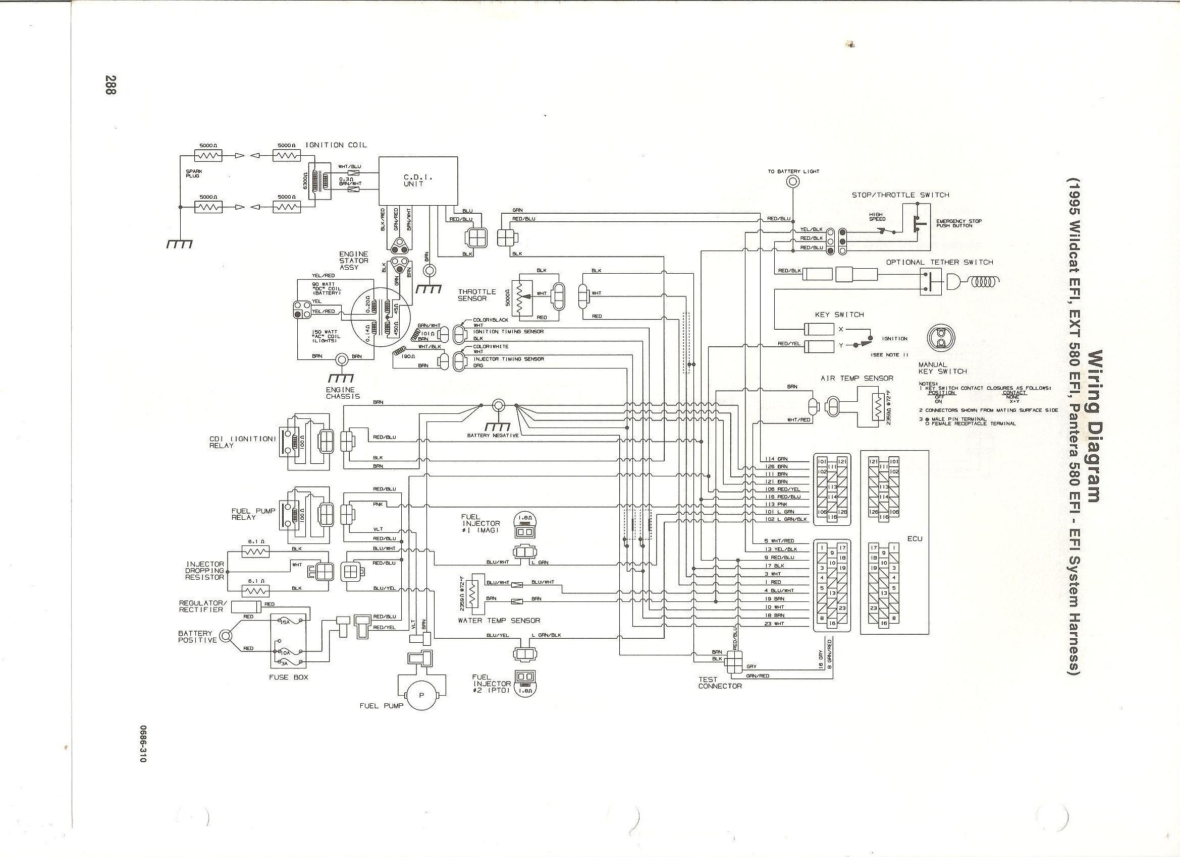 Arctic Cat 300 Wiring Diagram