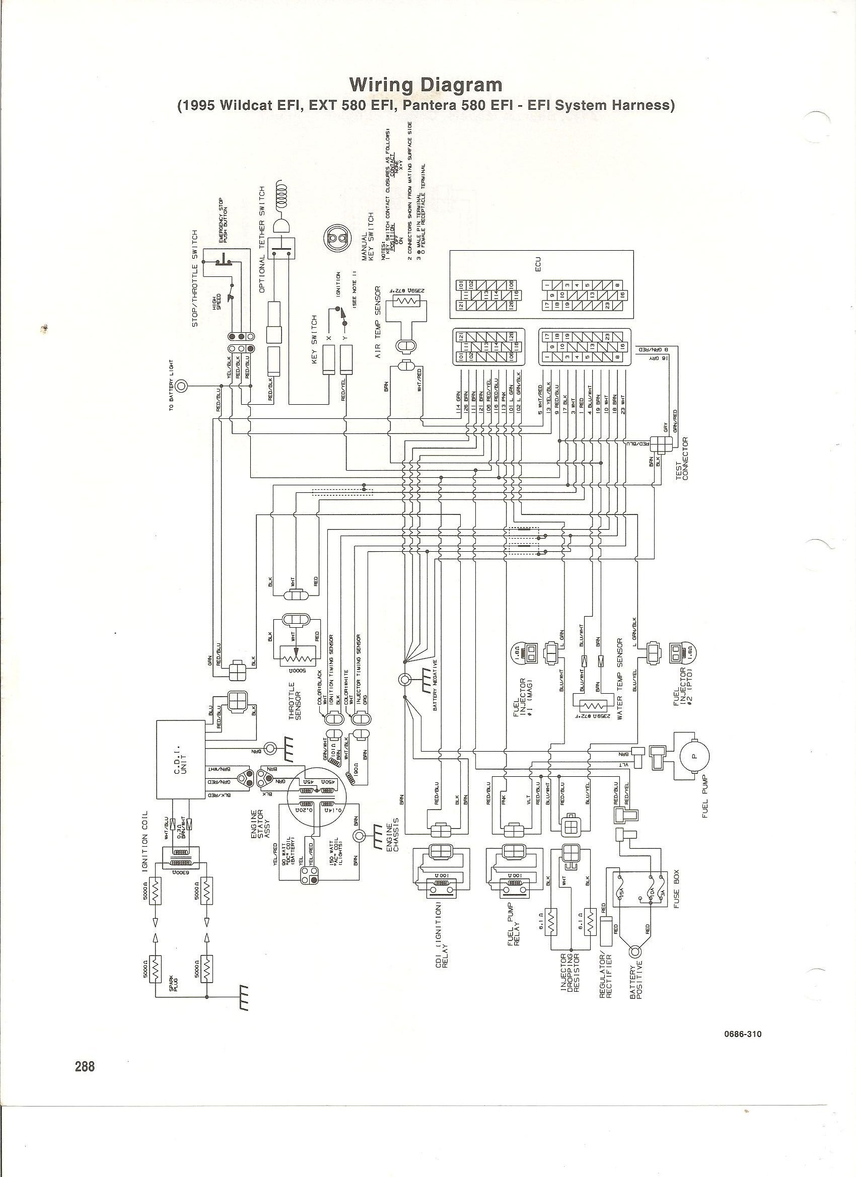 Wiring Diagram For Polaris 400