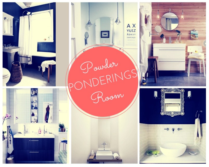 ARCTICdeco.com: Powder Room Ponderings