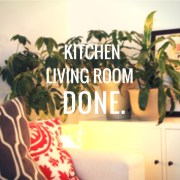 Kitchen. Living Room. Done.