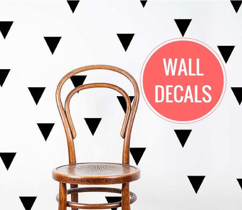 ARCTICdeco.com: Triangle Wall Decals