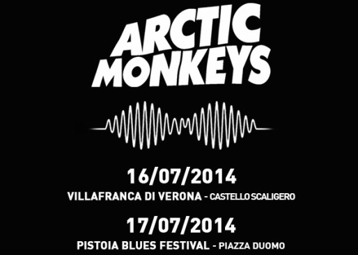 arctic monkeys kills in italia locandina