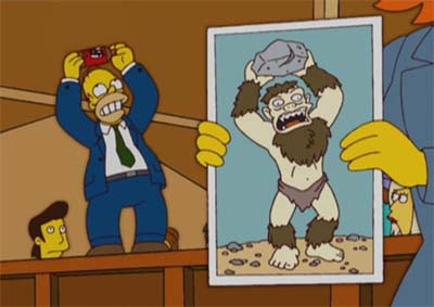 The Missing Link (The Simpsons, season 17, The Monkey Suit)