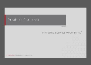 Product Forecast – Assumption Based Forecasting