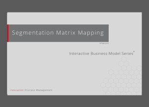 Segmentation Matrix – Mapping