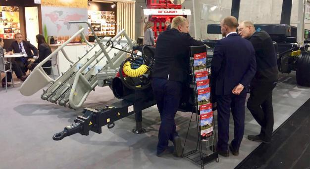 ARCUSIN AGRITECHNICA 2017 BALE HANDLING SOLUTIONS 5
