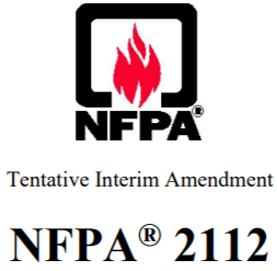 NFPA 2112 TIA Approved