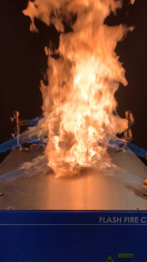 New Testing Service – Flash Fire Cylinder