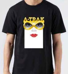 ATrax Infinity T-Shirt Crew Neck Short Sleeve Men Women Tee DJ Merchandise Ardamus.com