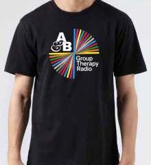 Above Beyond Group Therapy Radio T-Shirt Crew Neck Short Sleeve Men Women Tee DJ Merchandise Ardamus.com