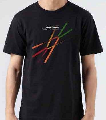 Above Beyond You Got To Go T-Shirt Crew Neck Short Sleeve Men Women Tee DJ Merchandise Ardamus.com