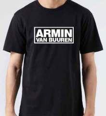 Armin Van Buuren T-Shirt Crew Neck Short Sleeve Men Women Tee DJ Merchandise Ardamus.com
