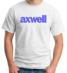 Axwell T-Shirt Crew Neck Short Sleeve Men Women Tee DJ Merchandise Ardamus.com