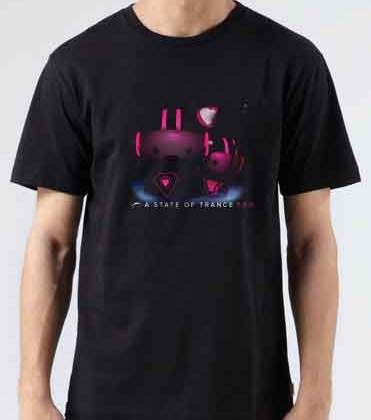 ASOT 550 T-Shirt Crew Neck Short Sleeve Men Women Tee DJ Merchandise Ardamus.com