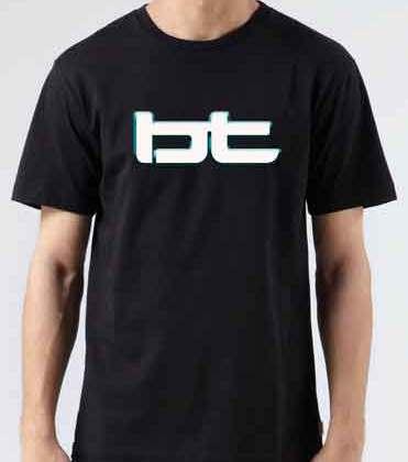 BT T-Shirt Crew Neck Short Sleeve Men Women Tee DJ Merchandise Ardamus.com