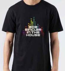 Bob Sinclar In The House T-Shirt Crew Neck Short Sleeve Men Women Tee DJ Merchandise Ardamus.com