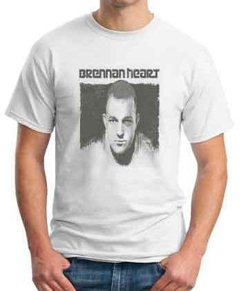 Brennan Heart T-Shirt Crew Neck Short Sleeve Men Women Tee DJ Merchandise Ardamus.com