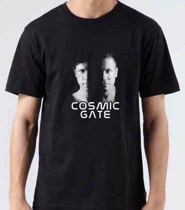 Cosmic Gate T-Shirt Crew Neck Short Sleeve Men Women Tee DJ Merchandise Ardamus.com