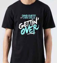 David Guetta Getting Over T-Shirt Crew Neck Short Sleeve Men Women Tee DJ Merchandise Ardamus.com
