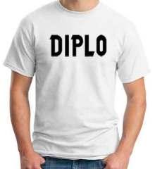 Diplo Logo T-Shirt Crew Neck Short Sleeve Men Women Tee DJ Merchandise Ardamus.com