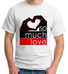 Fedde Le Grand So Much Love T-Shirt Crew Neck Short Sleeve Men Women Tee DJ Merchandise Ardamus.com