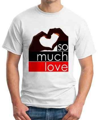 Fedde Le Grand So Much Love T-Shirt Crew Neck Short Sleeve Men Women Tee DJ Merchandise Ardamus.com