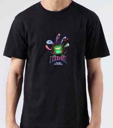 Feed Me Big Adventure T-Shirt Crew Neck Short Sleeve Men Women Tee DJ Merchandise Ardamus.com