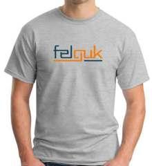 Felguk T-Shirt Crew Neck Short Sleeve Men Women Tee DJ Merchandise Ardamus.com