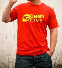 Gareth Emery T-Shirt Crew Neck Short Sleeve Men Women Tee DJ Merchandise Ardamus.com