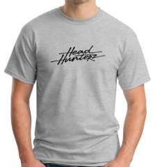 Headhunterz Logo T-Shirt Crew Neck Short Sleeve Men Women Tee DJ Merchandise Ardamus.com
