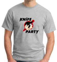 Knife Party T-Shirt Crew Neck Short Sleeve Men Women Tee DJ Merchandise Ardamus.com