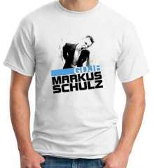 Markus Schulz GDJE T-Shirt Crew Neck Short Sleeve Men Women Tee DJ Merchandise Ardamus.com