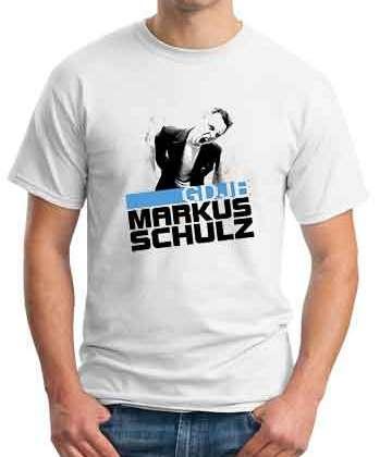Markus Schulz GDJE T-Shirt Crew Neck Short Sleeve Men Women Tee DJ Merchandise Ardamus.com