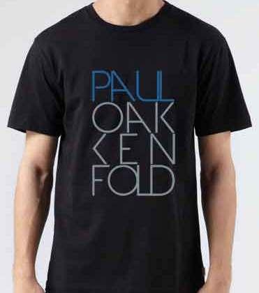 Paul Oakenfold T-Shirt Crew Neck Short Sleeve Men Women Tee DJ Merchandise Ardamus.com