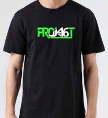 Project 46 T-Shirt Crew Neck Short Sleeve Men Women Tee DJ Merchandise Ardamus.com