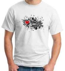 Roger Shah I Love Trance Music T-Shirt Crew Neck Short Sleeve Men Women Tee DJ Merchandise Ardamus.com