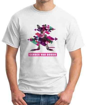 Sander Van Doorn Kangaroo T-Shirt Crew Neck Short Sleeve Men Women Tee DJ Merchandise Ardamus.com