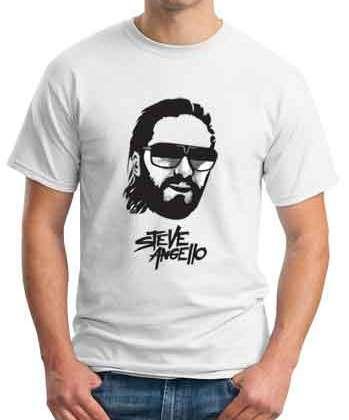 Steve Angello T-Shirt Crew Neck Short Sleeve Men Women Tee DJ Merchandise Ardamus.com