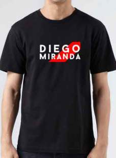 Diego Miranda T-Shirt Crew Neck Short Sleeve Men Women Tee DJ Merchandise Ardamus.com