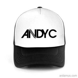 Andy C Trucker Hat Baseball Cap DJ by Ardamus.com Merchandise