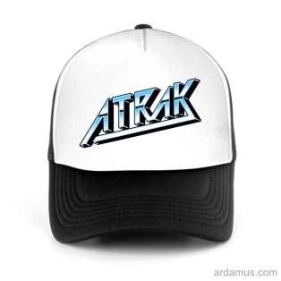 Atrax Trucker Hat Baseball Cap DJ by Ardamus.com Merchandise