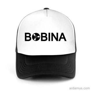 Bobina Trucker Hat Baseball Cap DJ by Ardamus.com Merchandise
