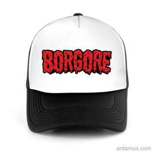 Borgore Trucker Hat Baseball Cap DJ by Ardamus.com Merchandise