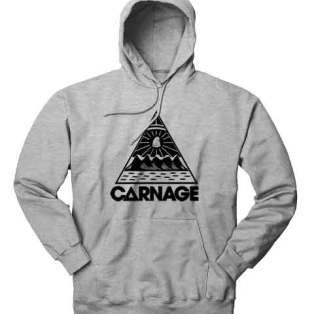 Carnage Logo Hoodie Sweatshirt by Ardamus.com Merchandise