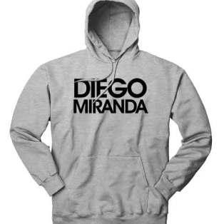 Diego Miranda Hoodie Sweatshirt by Ardamus.com Merchandise