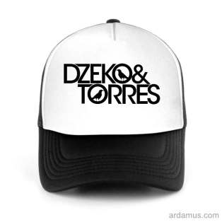 Dzeko And Torres Trucker Hat Baseball Cap DJ by Ardamus.com Merchandise