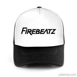 Firebeatz Trucker Hat Baseball Cap DJ by Ardamus.com Merchandise