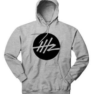 Headhunterz Logo Hoodie Sweatshirt by Ardamus.com Merchandise